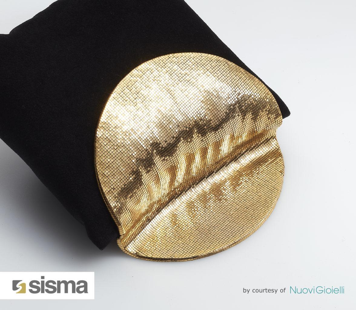 Pièce en impression 3D pour métaux précieux