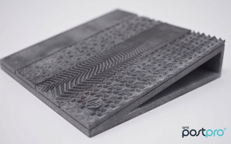 Exemple de pièce 3D pour le lissage chimique AMT
