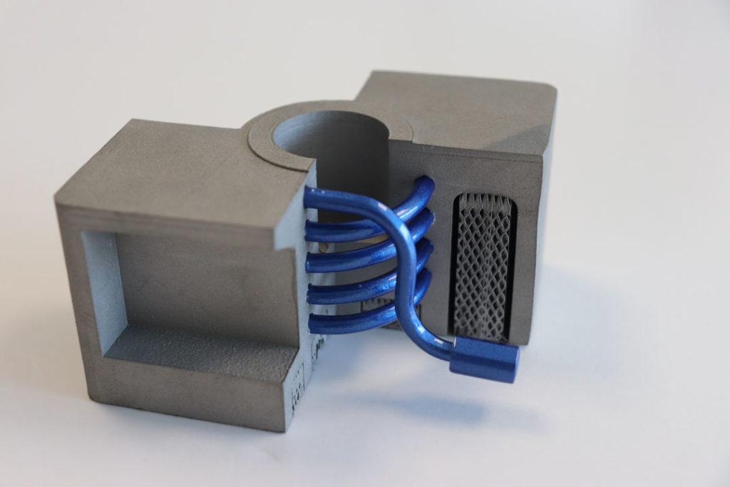 exemple de conformal cooling